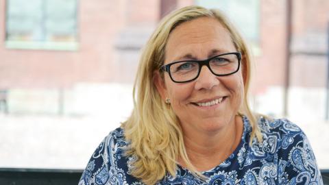 Helene Odenljung, gruppledare för Liberalerna.  Bild: Ylva Bowes
