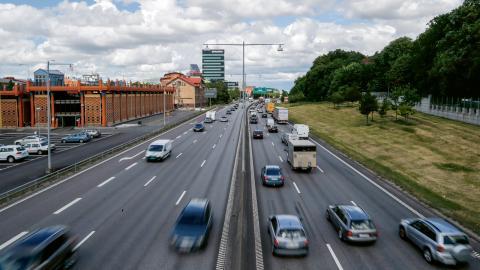 Förra årets torra väder gav högre halter av partiklar i Göteborgsluften och sannolikt kommer de lokala miljömålen inte att uppfyllas i år heller.  Bild: Adam Ihse / TT