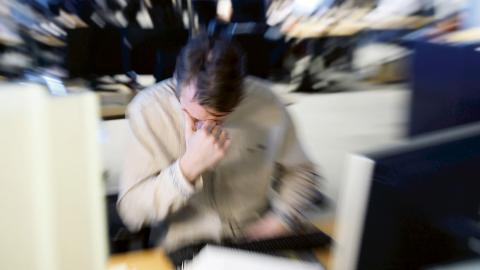 Många är stressade på jobbet. Henrik Montgomery/TT