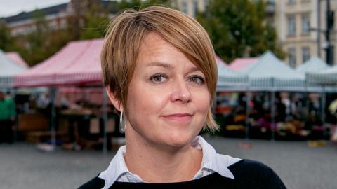 Katrin Stjernfeldt-Jammeh (S), kommunstyrelsens ordförande i Malmö. Bild: Katrin Stjernfeldt Jammeh/TT