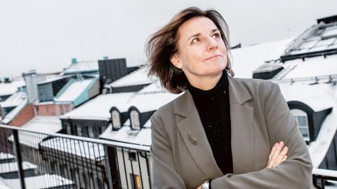 Isabella Lövin (MP). Bild: Tomas Oneborg/SvD/TT