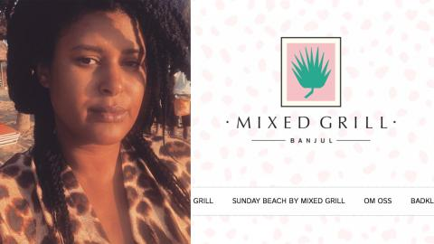Mixed Grills grundare Joanna Lemnelius. Bild: Skärmdumpar