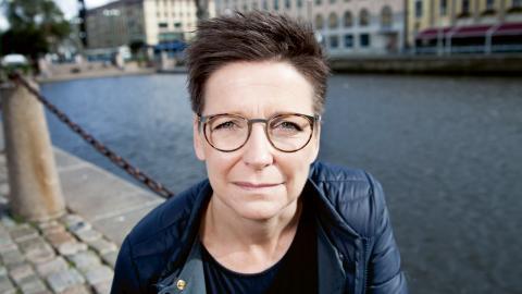 Ann-Sofie Hermansson, kommunalråd och gruppledare för S i Göteborg. Bild: Maria Stéen