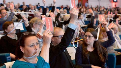 Idag inleds Socialdemokraternas partikongress i Örebro.  Bild: Henrik Montgomery/TT
