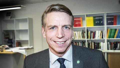 Per Bolund (MP). Bild: Tomas Oneborg/SvD/TT