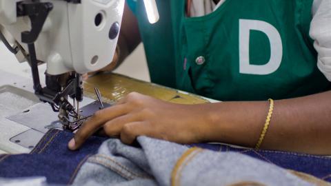 Textilarbetare i Bangladesh. Foto: A.M. Ahad/TT/AP