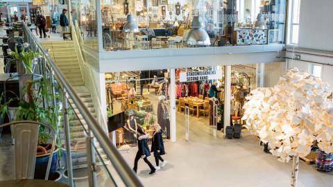 """""""Gallerian ska upplevas som vilket lyxigt shoppingcenter som helst, som Mall of Scandinavia, fast bättre"""", säger centrumledare Anna Bergström.  Bild: Lotta Silfverbrand"""