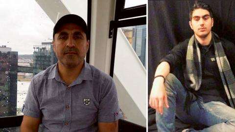 50-åriga Ahmed och 20-åriga Noor från Göteborg fördes bort av IS när de besökte Kurdistan i Norra Irak. En video visade deras avrättning, men kropparna är ännu inte funna. Bilder: Privat