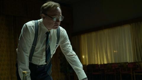 Jared Harris i rollen som  vetenskapsmannen Valery Legasov.