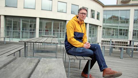 Erik Lundberg, turismforskare på Handelshögskolan i Göteborg. Bild: Annelie Moran