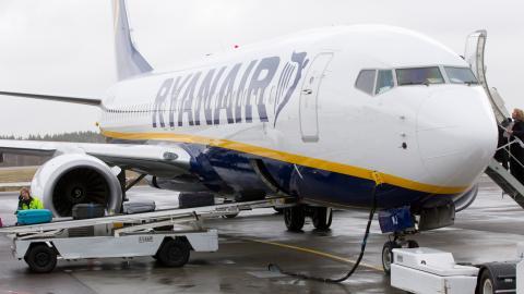 Utsläppen från flyget ökar. Bild: Morten Holm/TT