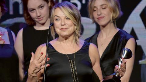 """Esther Perels """"Where should we begin?"""" utsågs förra året till bästa podcast på Gracie-galan i USA.  Bild: Richard Shotwell/Invision/AP"""