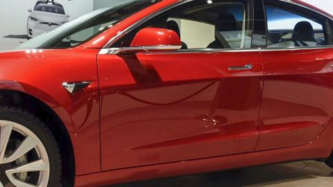 Tesla Model 3. Bild: Thommy Tengborg/TT