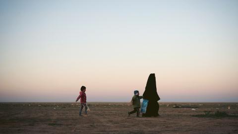 Hittills har 90 barn till franska IS-terrorister återvänt hem.  Bild: Felipe Dana/AP