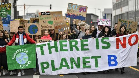 Demonstrationer i Tyskland. Bild: Martin Meissner/AP/TT