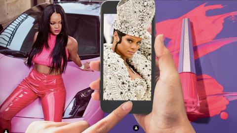 Rihanna har inte släppt ett album sedan 2016, men nagellack, underkläder, gympaskor, kroppspuder, med mera, skriver Jenny Ahonen.  Bilder: Charles Sykes/AP/TT/shutterstock