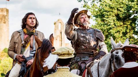 """""""Problemet med den här typen av galna 'making of'-historier är att slutprodukten sällan lever upp till helvetet som ligger bakom den"""", skriver Kristoffer Viita om """"The man who killed Don Quixote""""."""