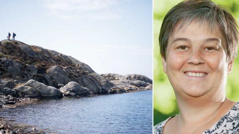 Emma Nohrén (MP), på femte plats för Miljöpartiets lista till Europaparlamentet.  Foto: Björn Larsson Rosvall /TT,  Fredrik Hjerling