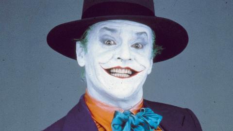 """Jack Nicholson som en av de mest minnesvärda jokrarna, ifilmen """"Batman"""" (1989). Bild: Herb Ritts/AP/TT"""
