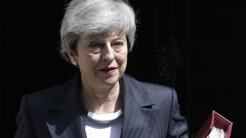 Theresa May. Bild: Kirsty Wigglesworth/AP/TT