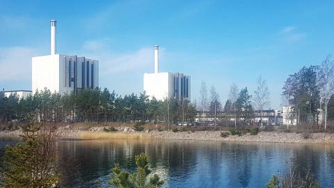 Forsmarks kärnkraftverk. Foto: TT