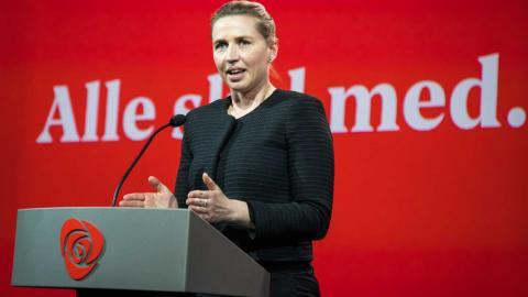 Mette Fredriksen. Foto: TT/AP/Heiko Junge