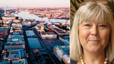 Gitte Caous, tillförordnad stadsdelsdirektör i Östra Göteborg leder nu arbetet med de ekonomiska nedskärningarna i Örgryte-Härlanda. Foto: Sao-Mai Dau/Shutterstock