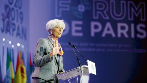 Christine Lagarde. Bild: Francois Mori/AP/TT