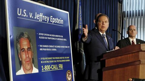 I helgen greps miljardären och finansmannen Jeffrey Epstein anklagad för människohandel i sexuellt syfte. Bild: Richard Drew