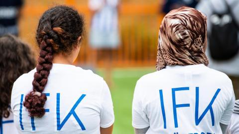 Blåvitts akademi har ett samarbete med GFC när det gäller de kvinnliga spelarna. Men till hösten kan beslut om en damlagssatsning komma. Bild: Mathias Bergeld/Bildbyrån