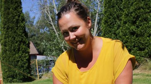 I sommar passar Christine Marttila på att ta lite ledigt och koppla av med familjen. Till hösten träder hon in i rollen som LO-ordförande på allvar. Bild: Martina Liljedahl