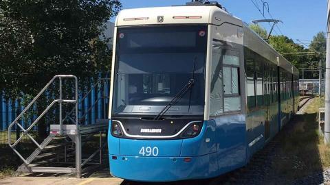 Göteborgs nya spårvagnar blir tvåriktningsvagnar som kan köra åt båda håll.  Foto: Göteborgs spårvägar