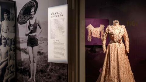 """Utställningen """"Göteborgs garderob"""" har lockat till besöksrekord på stadsmuseet. Foto: Pressbild/Kristin Lidell"""