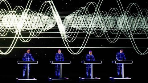 Kraftwerk väntas locka storpublik. Foto: Vegard Wivestad Grøtt/TT/NTB