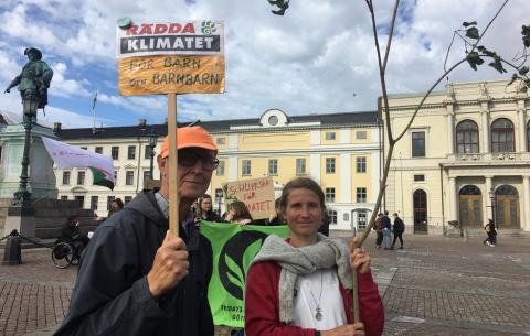 Calle Karnerud och Heike Ahrends. Bild: Karin Annebäck
