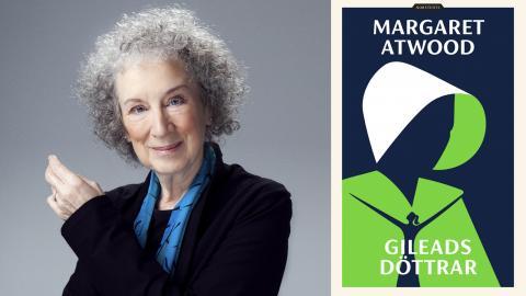 """""""Kanske sparkar Atwood in några öppna dörrar när hon ger oss läsare exakt vad vi vill ha"""", skriver Nora Wurtzel. Bild: Norstedts"""