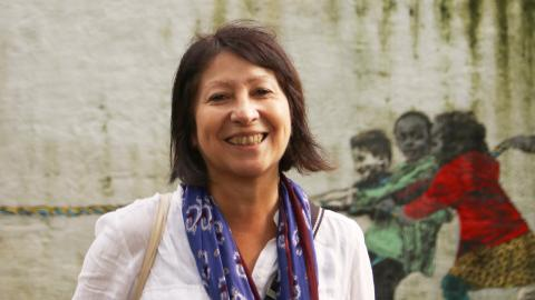 Alla platser har en historia, enligt Gloria Esteban som tidigare jobbade som historiker och arkeolog, men numera är programansvarig på kulturhuset Blå Stället. Bild: Sao-Mai Dau