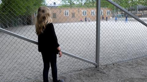 De rödgröna vill att barn till arbetslösa ska ha möjlighet att gå på fritids som andra barn.  Bild: Janerik Henriksson / TT