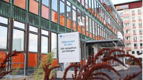 Debattörerna vill utreda om Lundby sjukhus kan bedrivas i regionens regi. Foto: Sanna Arbman Hansing