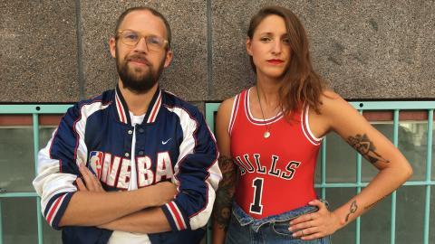 Cinema Queer anordnas av Oskar Eriksson och Melissa Lindgren.