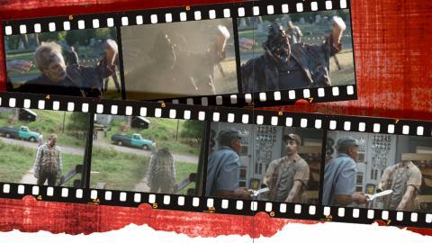 "Effekter som Chimney Productions har gjort i filmen ""The Dead Don't Die"".  Bild: Focus features"