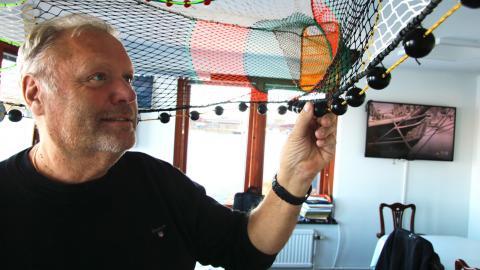 Peter Ronelöv Olsson är ordförande för Sveriges fiskares producentorganisation. Bild: Annelie Moran