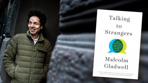 Den engelsk-kanadensiske journalisten och författaren Malcolm Gladwell.  Bild: Pontus Lundahl/TT