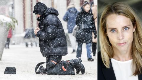 Jenny Åkervall, gruppledare för S i Danderyd, är kritisk mot förbudet. Bild: Lars Pehrson/SvD/TT / Socialdemokraterna Danderyd