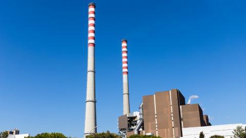 Kolkraftverket vid Sines – ett av Portugals sista aktiva. Bild: Shutterstock