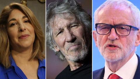 Naomi Klein och Roger Waters hör till de kända personer som skrivit under brevet till stöd för Jeremy Corbyn. Foto: TT/AP