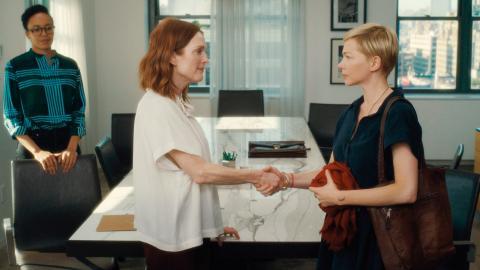 """Michelle Williams är det bästa med den oengagerande """"After the wedding"""", tycker Dagens ETC:s recensent.  Bild: Press"""