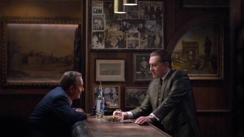 """Martin Scorsese återvänder till sina teman lojalitet, gatans rättvisa och manliga egon i """"The Irishman"""".   Bild: Niko Tavernise/Netflix"""