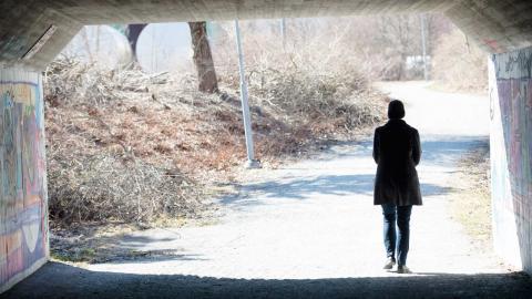 """Backlashen för arbetet mot mäns våld mot kvinnor i samhället började redan med förändringen av familjerättslagarna 2006"""", skriver debattören. Foto: Fredrik Sandberg / TT"""