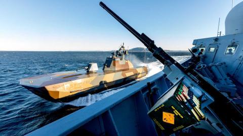 Nato övar utanför Trondheims kust 2018 Foto: Gorm Kallestad / TT / NTB